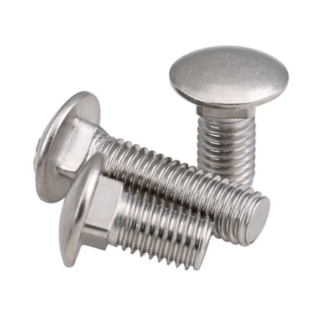 Carriage Bolt M5 M12 mushroom head bolts with Nuts and Washers choice 10 pcs M10x100